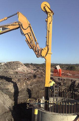 Sewer pump station construction, Sunshine Coast, Queensland by Hallco Engineering