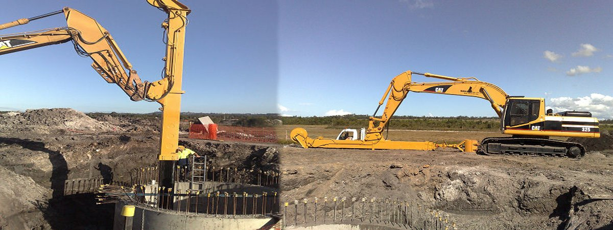 Sewer pump station constructions in Queensland on the Sunshine Coast