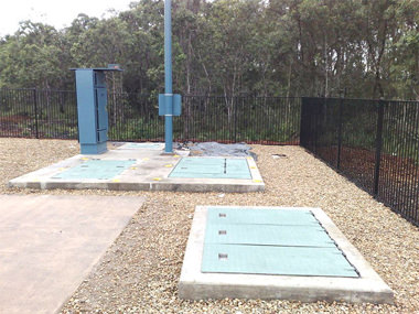 We do metal fabrication for pump station access covers